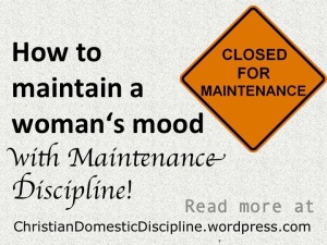 how-to-maintain-womans-mood-maintenance-discipline